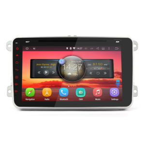 android car gps double din for vw skoda