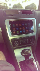 pumpkin android car gps for vw installed in skoda octavia from 2009 (1)